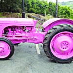 'Pink Fergie' on tour for Action Breast Cancer