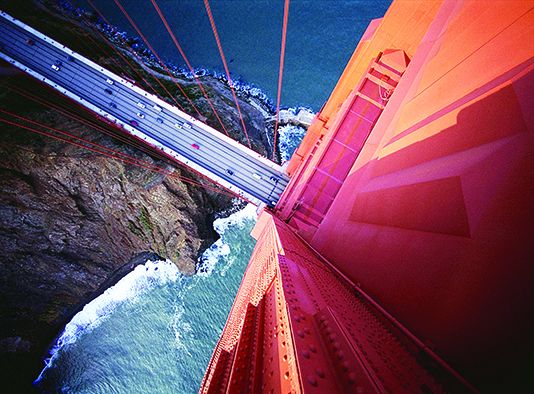 The Golden Gate Bridge is the most photographed in the world but it's also a top suicide destination.