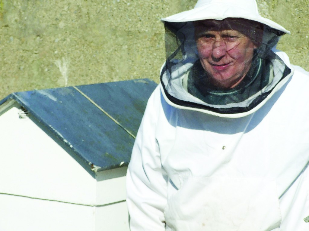 Carn beekeeper James Houghton was honoured for his outstanding honey.