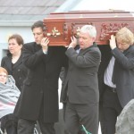 Man who brought down Bertie laid to rest in Urris