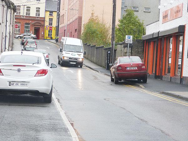 page 1-Van goes wrong way on Maginn Avenue