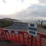 Lisfannon strand torn up by winter storms