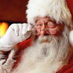 Ho, ho, ho Santa's on his way to Carn