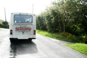 1 Swilly Bus departs