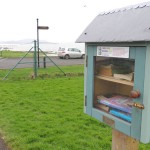 Buncrana's 'Wee Library' at the Shorefront.