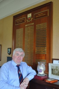 Cllr Nicholas Crossan pictured in the former Buncrana Town Council office.