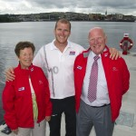 Buncrana Clipper Skipper heads for home