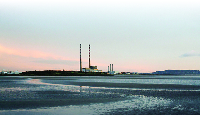The iconic Poolbeg towers are under threat of demolition.