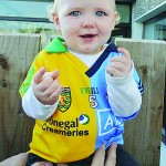 Moville tot torn between Donegal and Dublin!