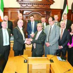 'Proud' day as Palestinian ambassador visits Donegal