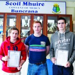 Donegal stars, Darach and Caolan, all smiles with results