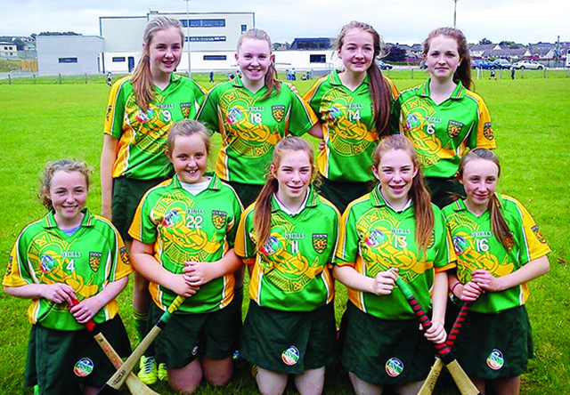 carn girls county camogie team