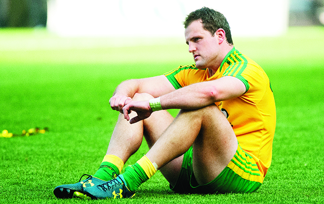 Michael Murphy after Sunday's final. Photo Evan Logan