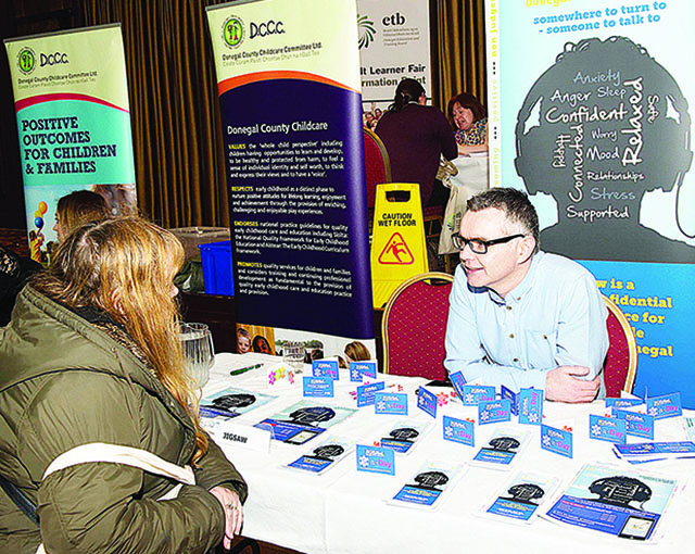 Sean McGrory, Project Manager at Jigsaw Donegal  Photo Clive Wasson