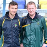 Inishowen U13 Managers Patrick McLaughlin and William O'Connor