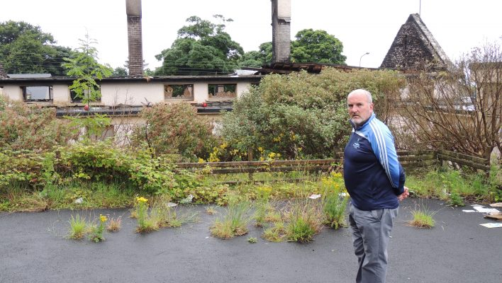 Moville gaelscoil plans to rise from the ashes