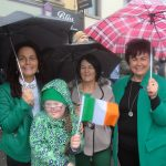 St Patrick's Day was the wettest day of the month