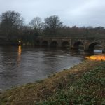 Buncrana's Castle Bridge is falling down –urgent repairs needed for 300 year old structure after storm and flood damage