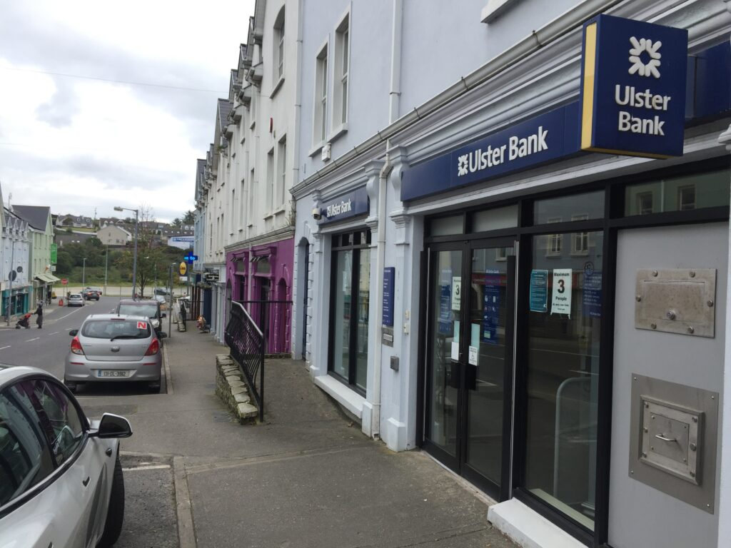 Inishowen's only Ulster Bank branch in Buncrana
